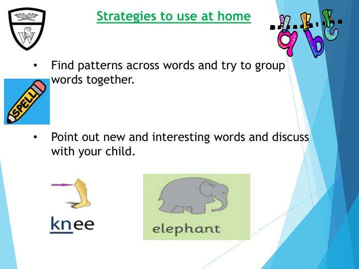 Strategies to use at home