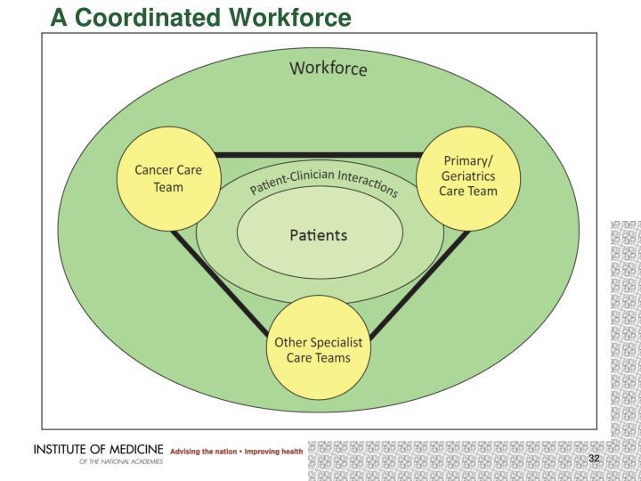 A Coordinated Workforce