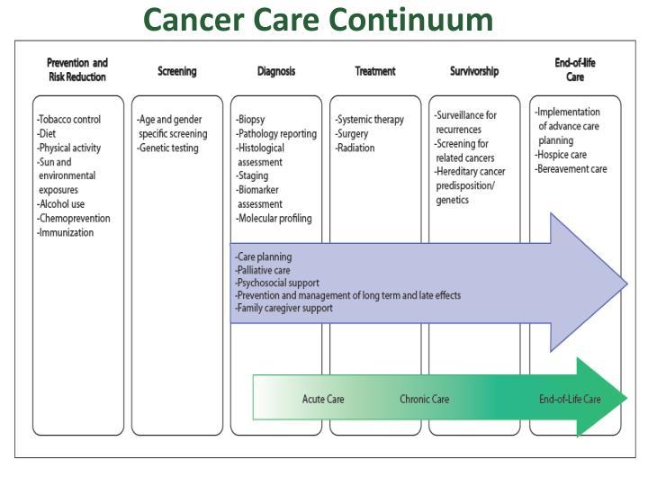 Cancer Care Continuum