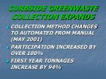 curbside greenwaste collection expands