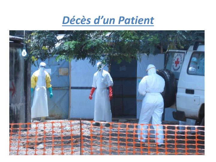 Décès d'un Patient
