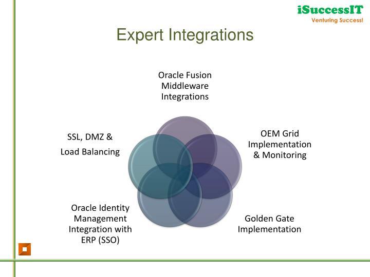 Expert Integrations