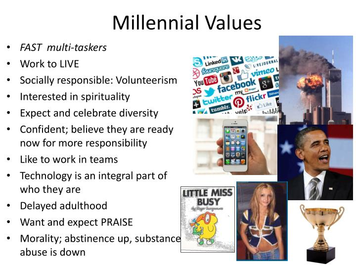 Millennial Values