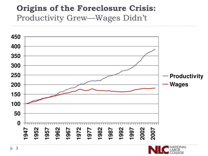Origins of the Foreclosure Crisis: