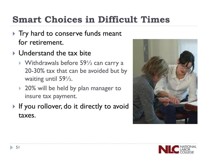 Smart Choices in Difficult Times