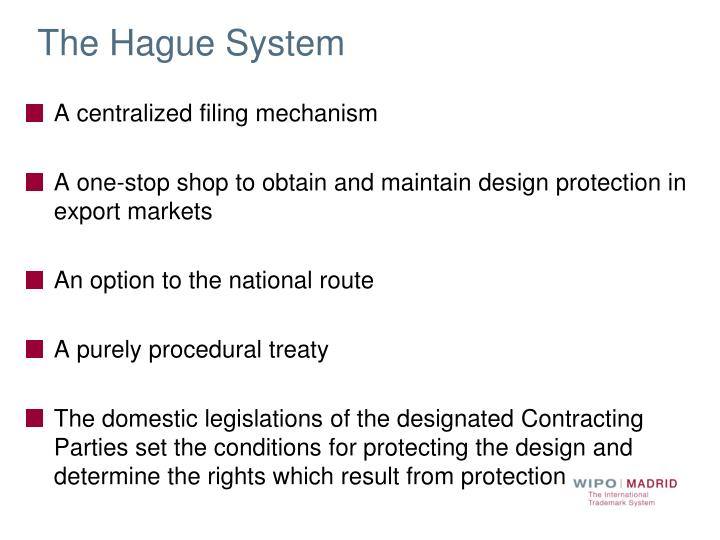 The Hague System