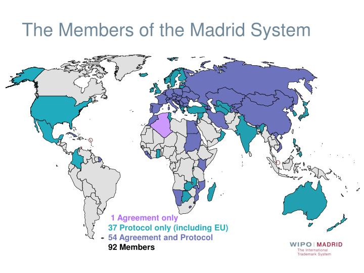 The Members of the Madrid System