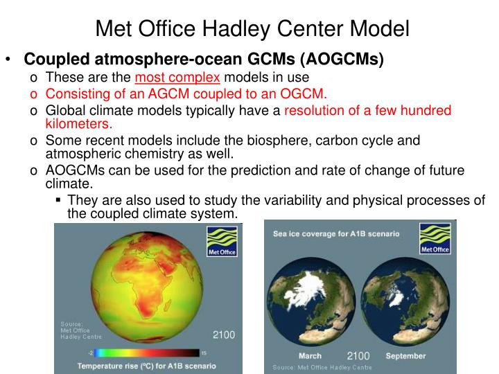 Met Office Hadley Center Model