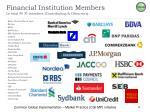 financial institution members in total 40 fi members contributing observers