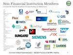 non financial institution members in total 66 non fi members contributing observers