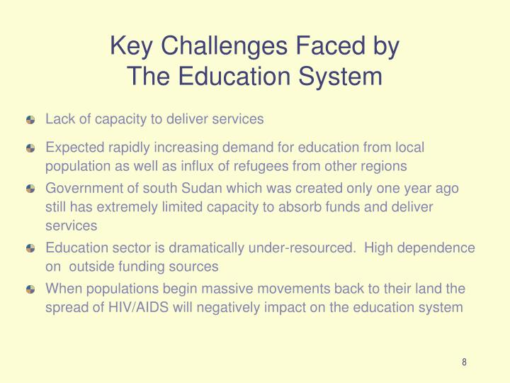 Key Challenges Faced by