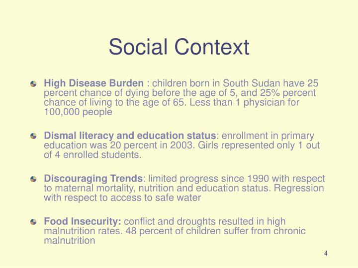 Social Context