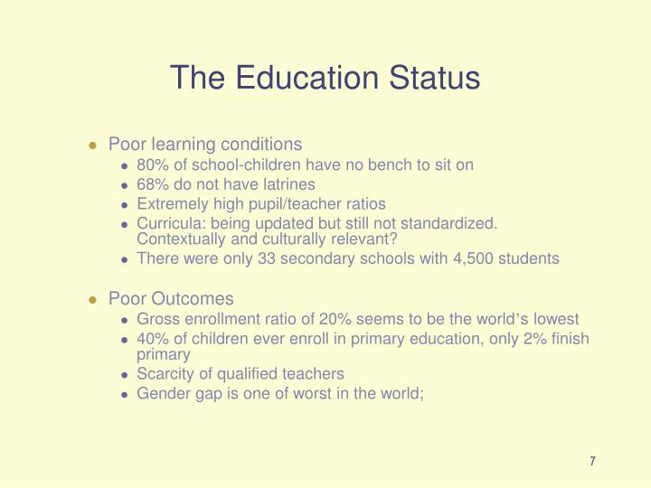 The Education Status