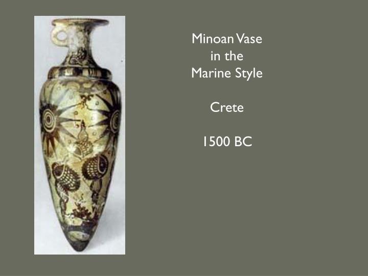 Minoan Vase