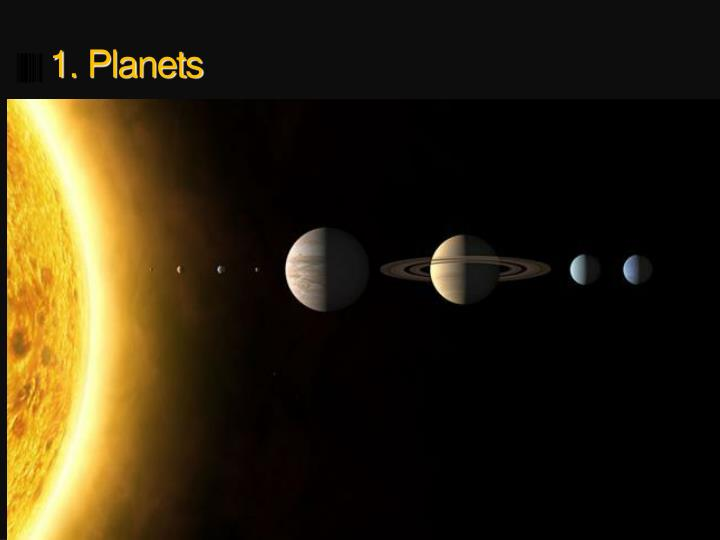 1 planets