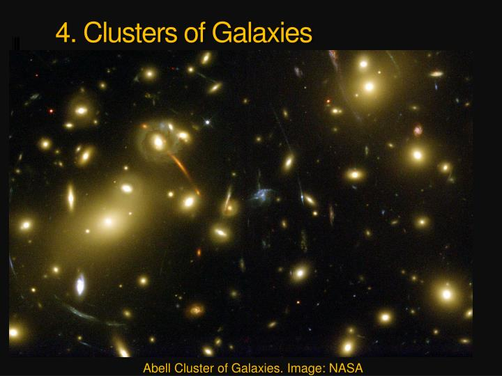 4. Clusters of Galaxies