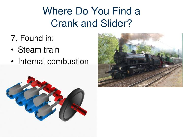 Crank And Slider Uses : Ppt mechanisms powerpoint presentation id