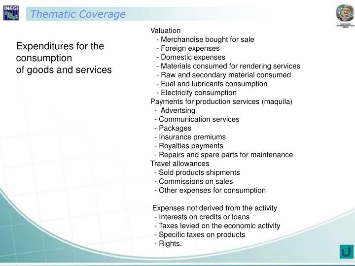 Thematic Coverage