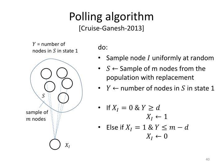 Polling algorithm