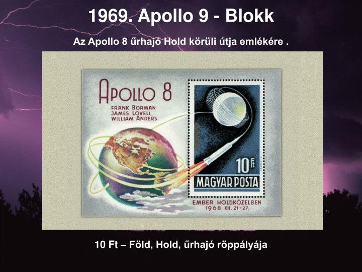 1969. Apollo 9 - Blokk