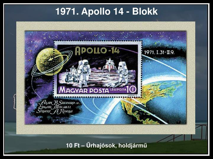 1971. Apollo 14 - Blokk