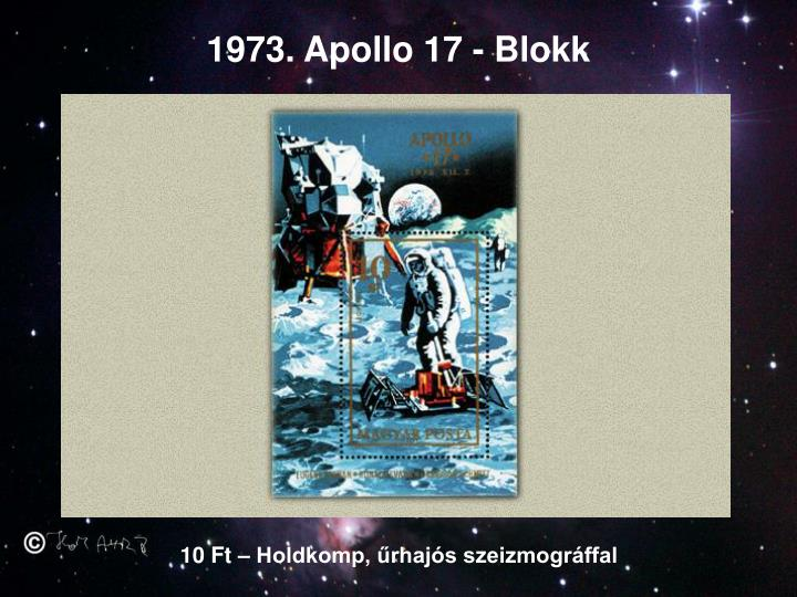 1973. Apollo 17 - Blokk
