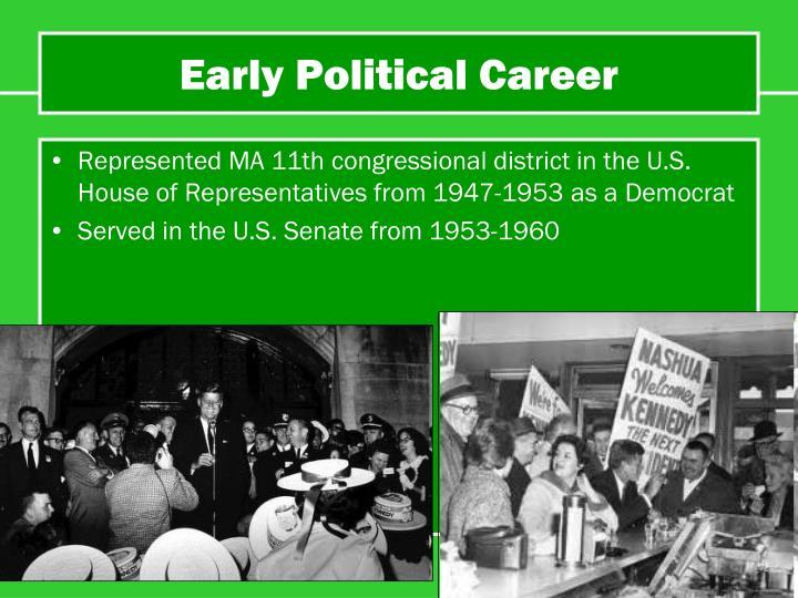 Early Political Career