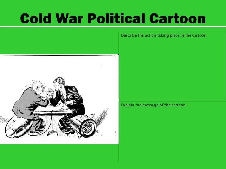 Cold War Political Cartoon