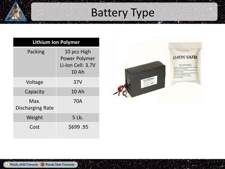 Battery Type