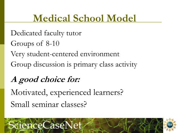Medical School Model