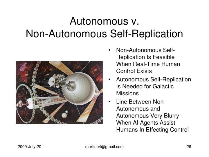 Autonomous v.