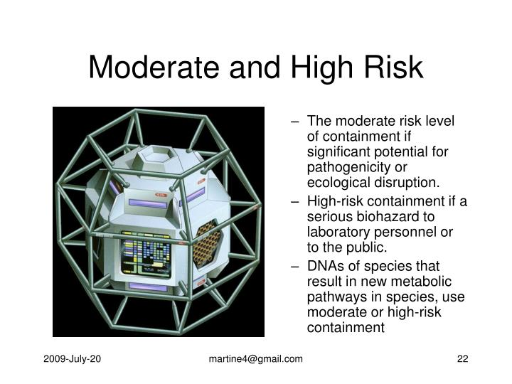Moderate and High Risk