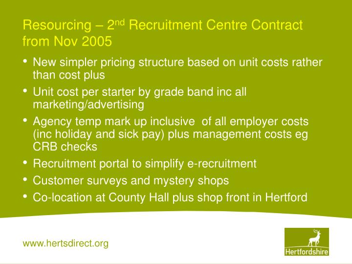 Resourcing – 2