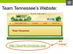 team tennessee s website