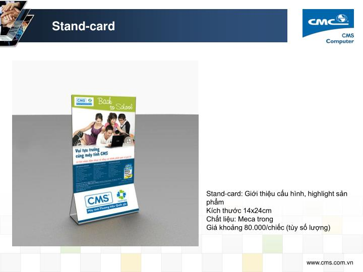 Stand-card