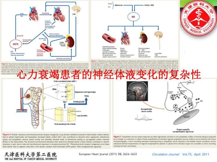 心力衰竭患者的神经体液变化的复杂性