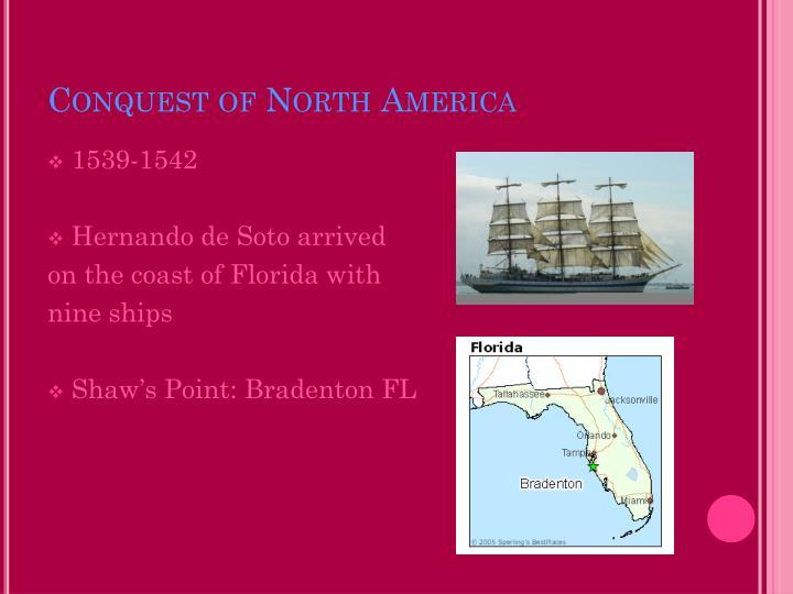 Conquest of North America