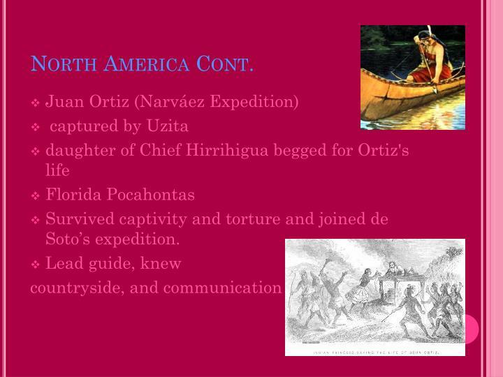 North America Cont.