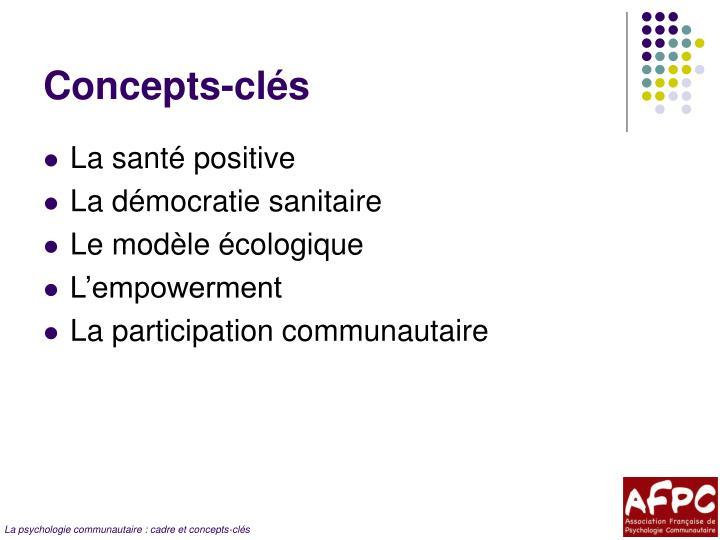 Concepts-clés