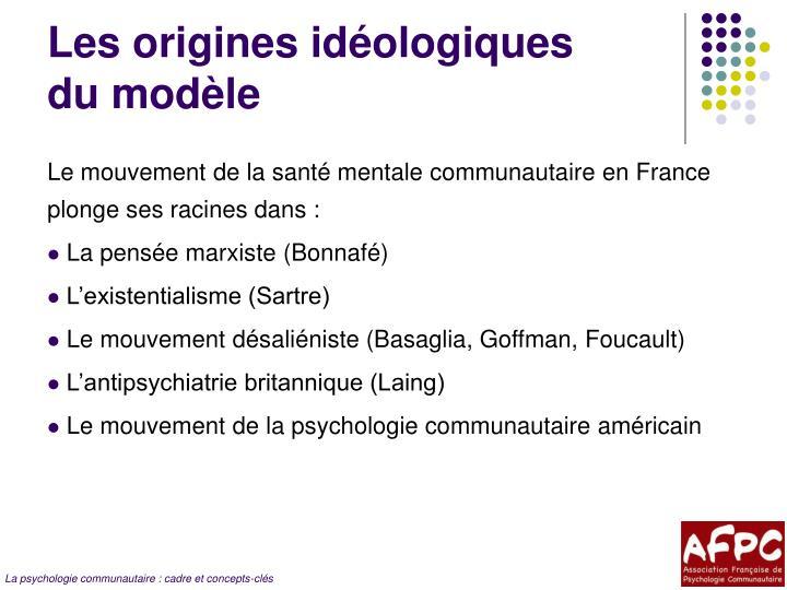 Les origines idéologiques
