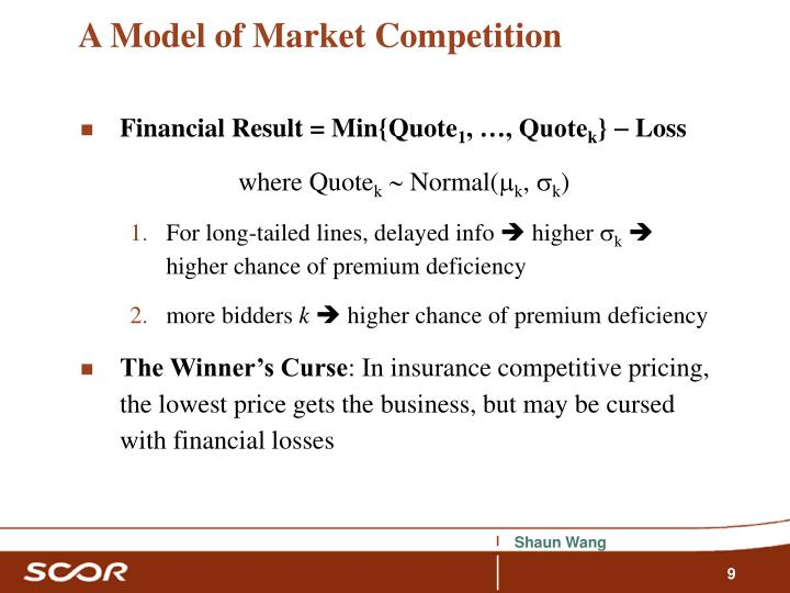 A Model of Market Competition