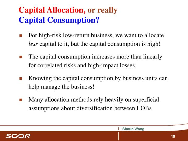 Capital Allocation,