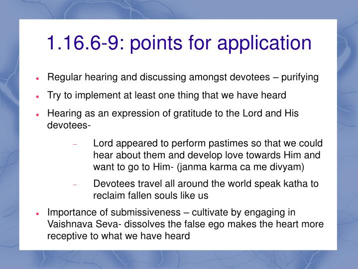 1.16.6-9: points for application