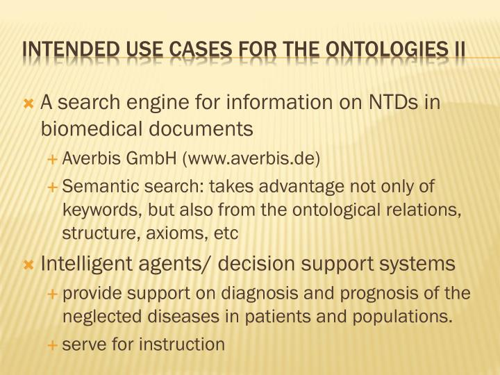 A search engine for information on NTDs in biomedical documents