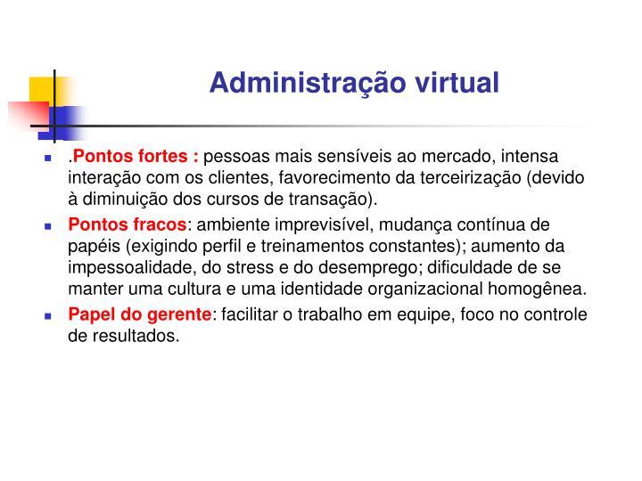 Administração virtual