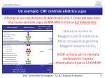 un esempio cnf centrale elettrica a gas