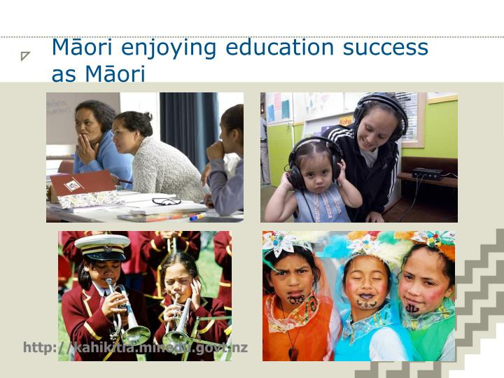 Māori enjoying education success as Māori