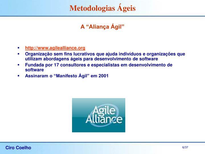 """A """"Aliança Ágil"""""""
