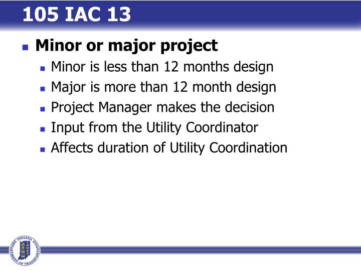105 IAC 13
