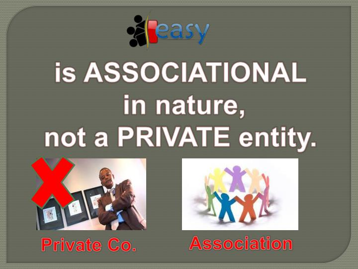 is ASSOCIATIONAL
